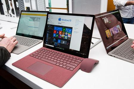 آمال ميكروسوفت أن تتخطى مبيعات أبل وجوجل باصدار Microsoft surface