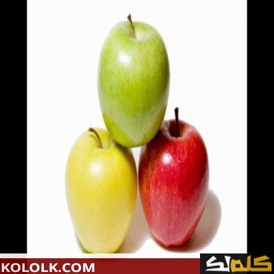 فوائد التفاح على الريق للصحة والرشاقة
