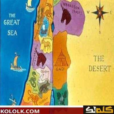 اين تقع وتوجد أرض كنعان