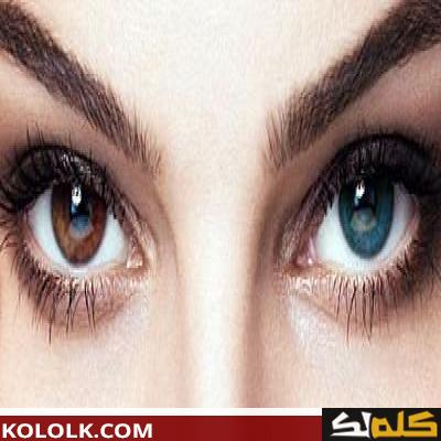 تغير لون العين طبيعيا