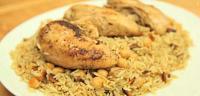 طريقة عمل أرز بالحمص والدجاج