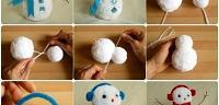 طريقة كيف تصنع رجل الثلج