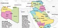تقسيم الوطن العربي